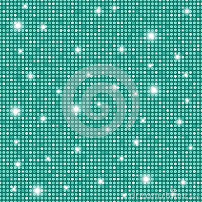 Glamour turquoise shining rounds seamless texture background