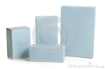 Bottles bottles and containers gray colored box with a white background
