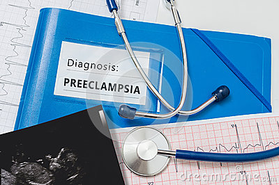 Preeclampsia diagnosis for pregnant patient with risky pregnancy