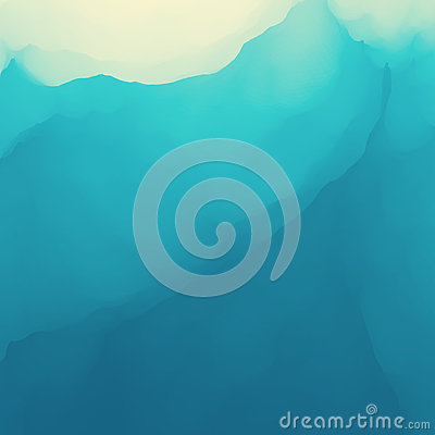 Water Wave. Water Surface. Nature background. Modern pattern. Vector Illustration For Your Design. Flowing Background