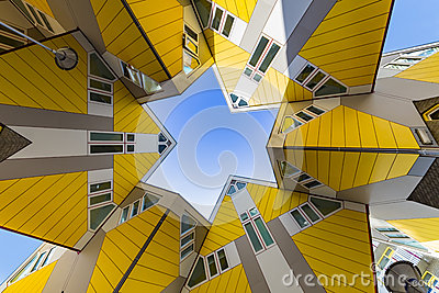 Cubic houses at Rotterdam