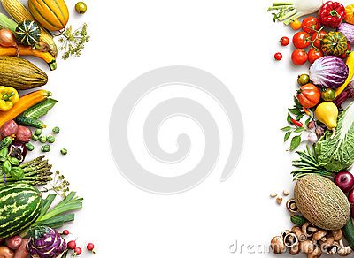 stock image of healthy eating background. food photography different fruits and vegetables