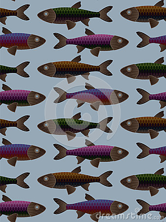 Tilable Fish Pattern