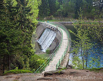 Dam on the Lomnica River