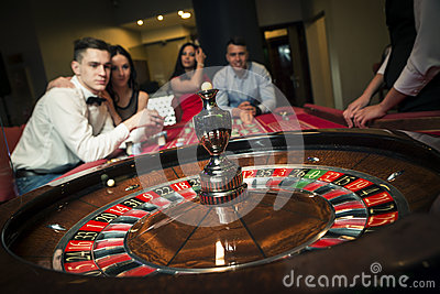 Group Playing Roulette
