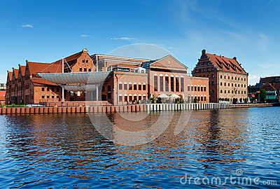 Baltic Philharmonic in Gdansk, Poland