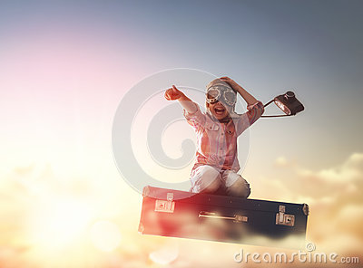 stock image of dreams of travel