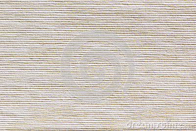 The beige texture cloth. The ribbed canvas.