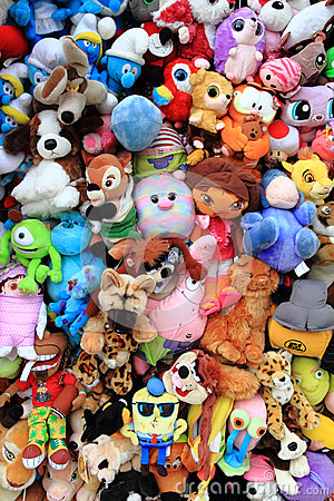 Cuddly toys collection