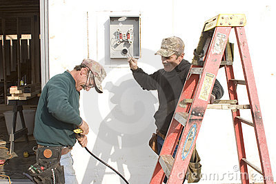 Trimming electric wire