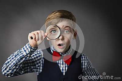 Child See Through Magnifying Glass, Kid Eye Magnifier Lens