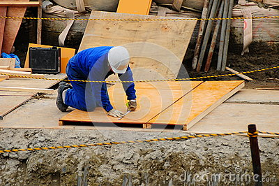 Japanese  Worker in Action