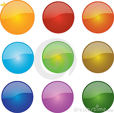 Glossy Ball Icons
