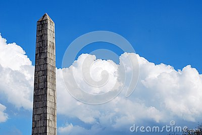 stock image of monument