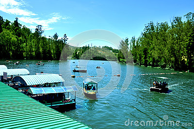 Lake and boating places
