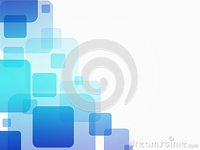 Business abstract blue background