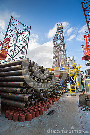 Equipment for oil and gas completion at  drilling RIG