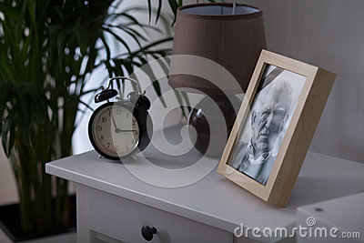 Framed picture of a man
