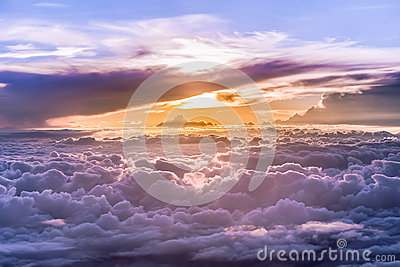 Heaven Grand of clouds and skyscape