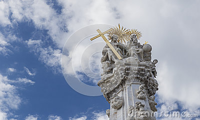 Plague Column, erected in honor of deliverance from plague in th