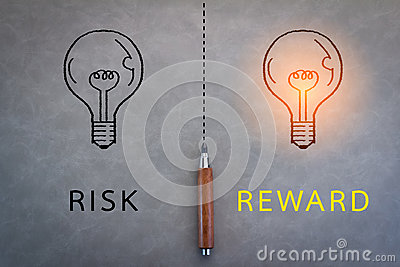 Risk and reward word