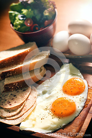 Balanced Nutrition Eggs Set Breakfast