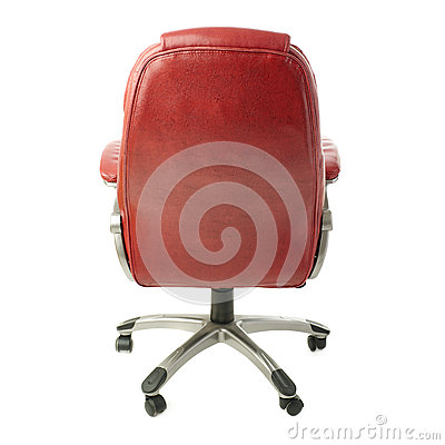 Office chair over isolated white background