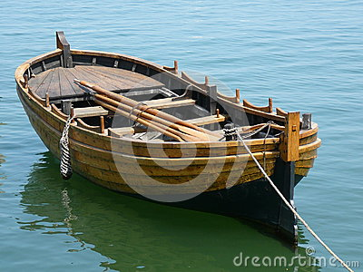 Mayflower Replica Rowboat