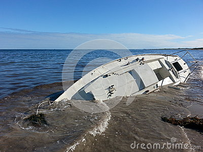 Yatch boat beached ship wrecked sunk