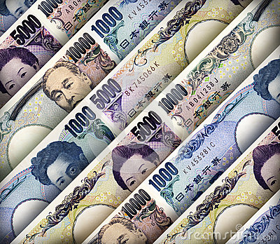 Japanese Yen Background