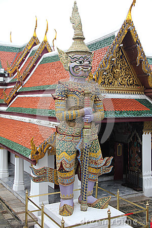 stock image of grand palace bangkok, thailand