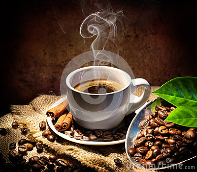 Aroma And Taste In Traditional Coffee