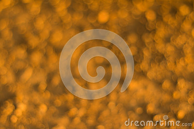 Blurred Abstract Imaged Of Yellow