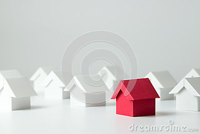 stock image of real estate industry