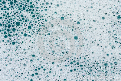 Foam Lather Bubbles from Bath