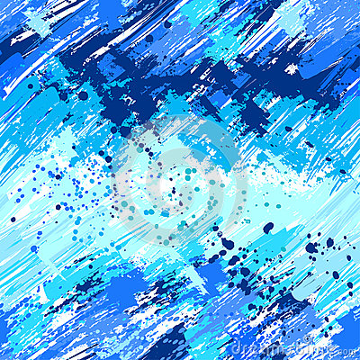 Seamless painted blue paint