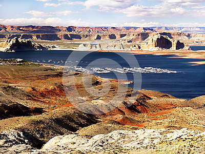 Lake Powell, Glen Canyon, Utah Arizona