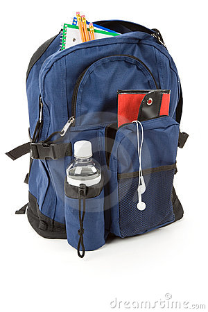 Book Bag and MP3
