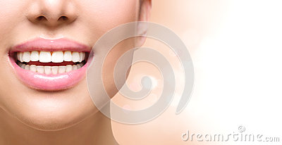Healthy smile. Teeth whitening. Dental care