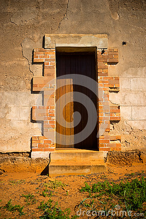 Old fashioned door