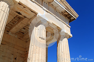 Columns of Parthenon