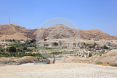 Jericho, The Mount of Temptation, Judea