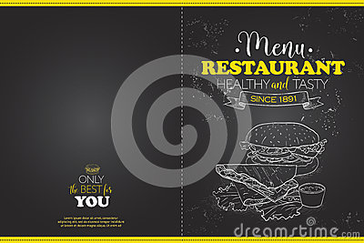 Cover Scetch horisontal menu design