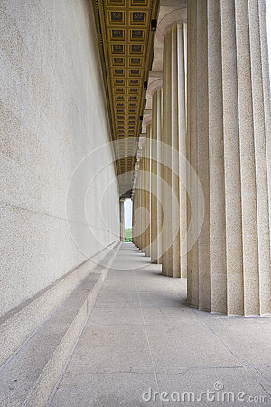 Parthenon Side and Columns