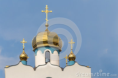 Roof and tower of an orthodox church