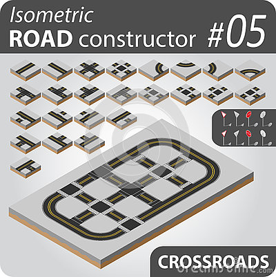 Isometric road constructor - 05