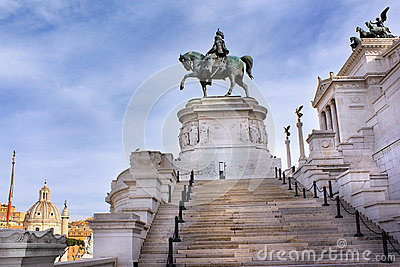 Monument to Victor Emmanuel II or Il Vittoriano, Rome, Italy