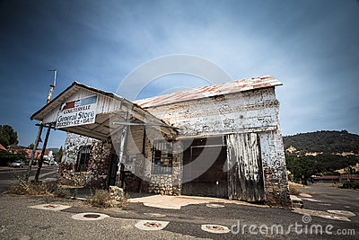 Old Coulterville CA Store