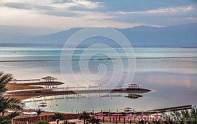 Early morning at Dead Sea.