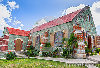 St. Barnabas Anglican Church at Antigua, West Indies